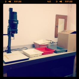 My new darkroom